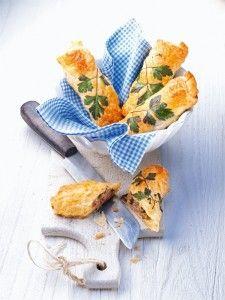 uit de Miele stoomoven: gehaktbroodjes