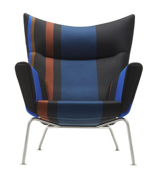 Hans Wegner: Wegner CH445 Wing Chair - Paul Smith Edition - Danish Design Store