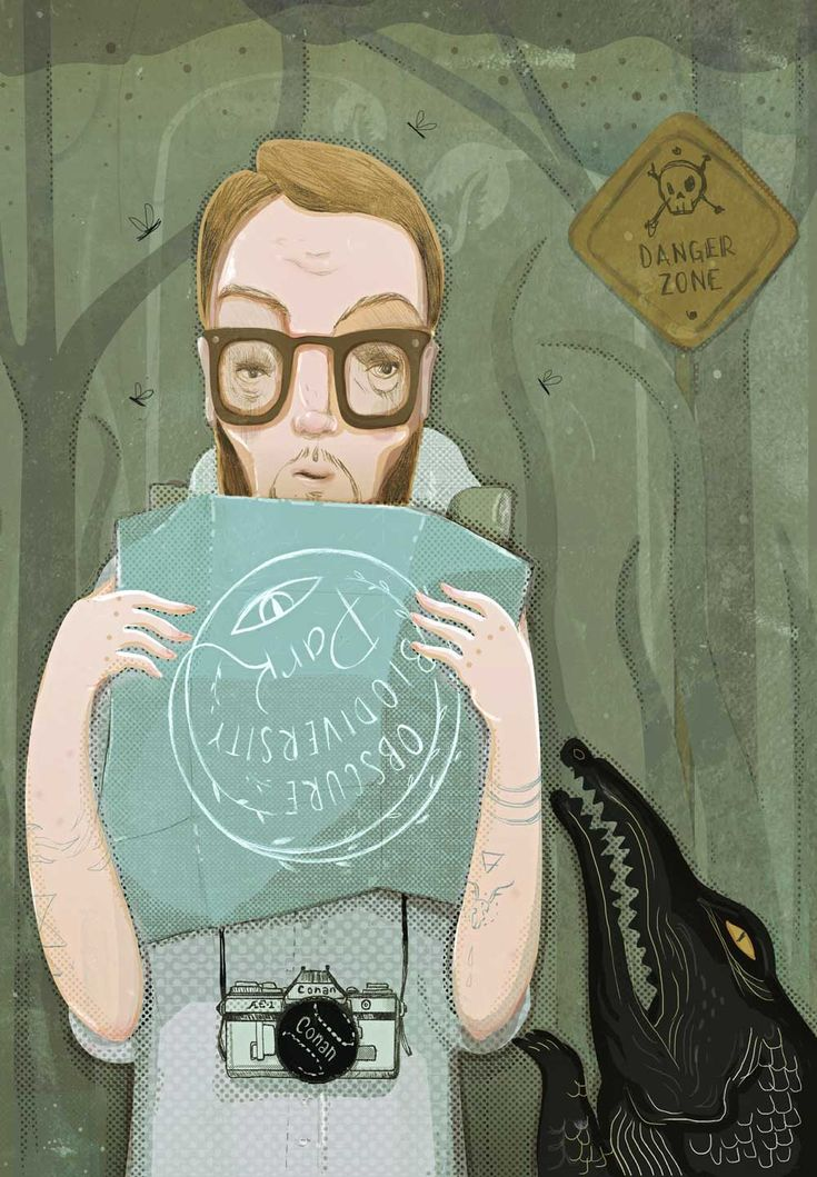 """Ilustración de Paola Vecchi para el artículo """"Bienvenidos al lado oscuro de la biodiversidad"""" de Santiago Campillo."""