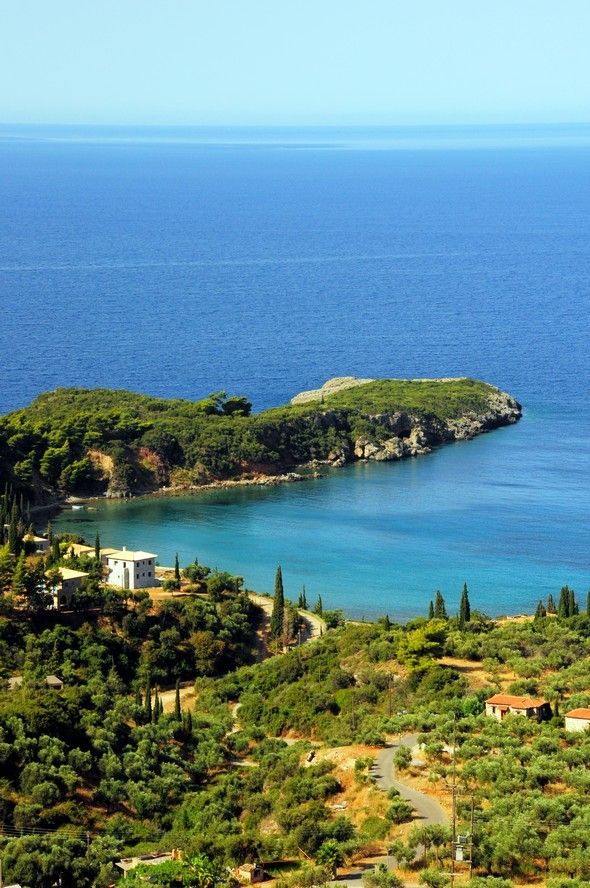 Beautiful Kardamyli in Messinia (Peloponnese)
