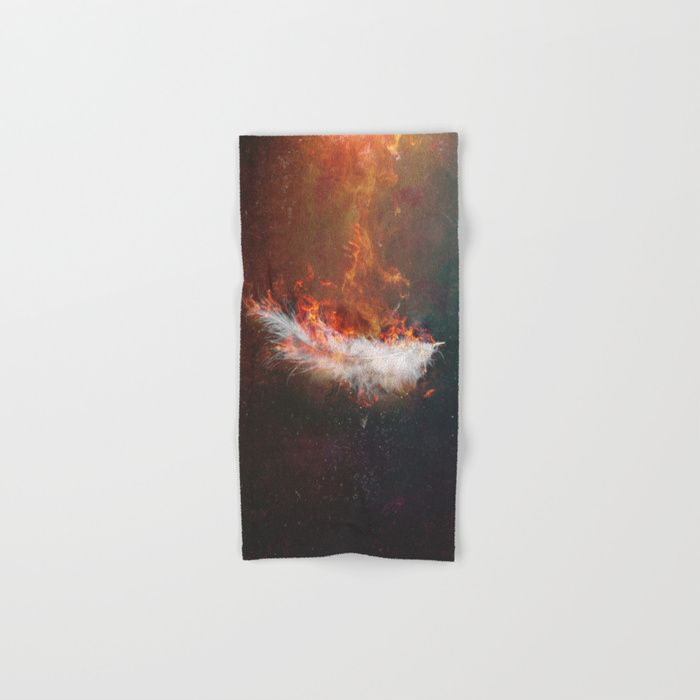 Icarus Hand & Bath Towel by HappyMelvin | Society6