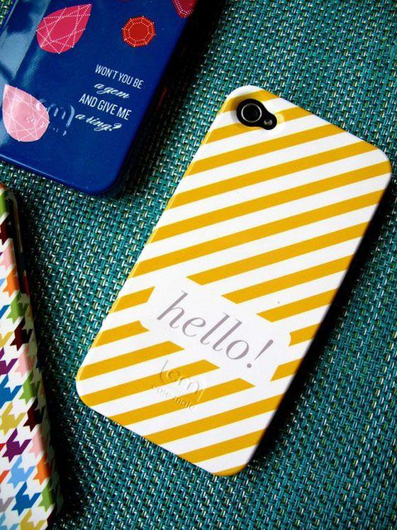 yellow + stripes