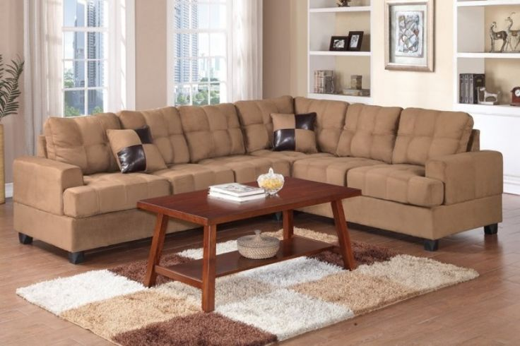 Tan Sectional Couches