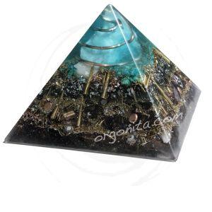 Piramide de orgonite con Cuarzo Blanco - ORGON: ORGONITE personalizado - ORGONITA personalizada - Orgonites - Orgonitas