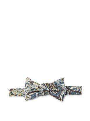 63% OFF Cotton Treats Men's Hamilton Reversible Bow Tie, Brown/Blue