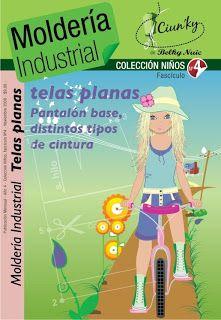 Mujeres y alfileres: Moldería industrial niños CLIC en imagen para ir descarga PDF