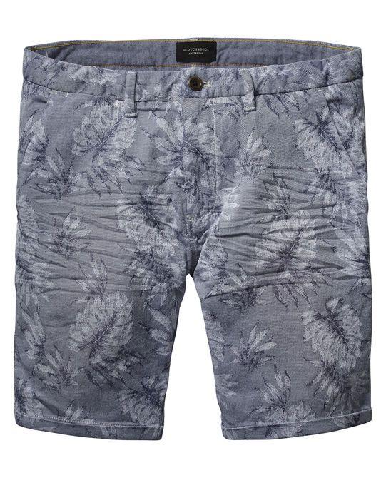 Jacquard Chino Shorts  - Scotch