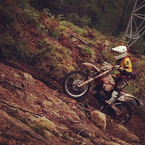 Enduro #motor #motocross #gasgas #suzuki #quad #porriño #monte #arbol #iphone5 #iphone4 #lluvia #barcelona