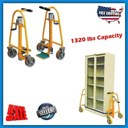 furniture dolly set movers sliders lifter heavy appliance manual steel hand