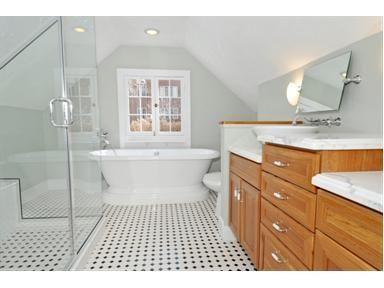 best 25+ sloped ceiling bathroom ideas on pinterest | attic