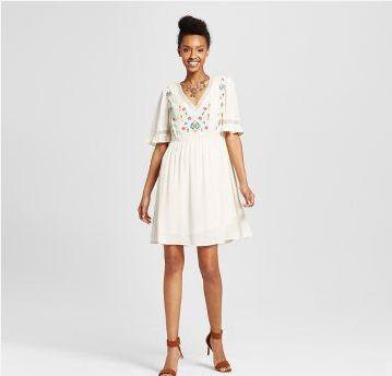 BOGO 50% off Dresses and Rompers. Valid 5/7 - 5/13