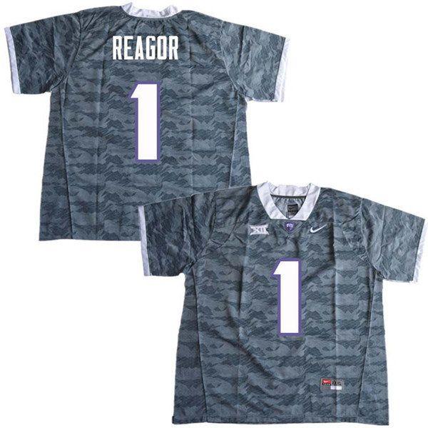 online store addc7 09612 Men #1 Jalen Reagor TCU Horned Frogs College Football ...