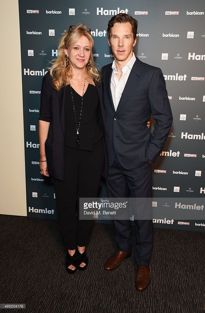 ニュース写真 : Producer Sonia Friedman and cast member Benedict...