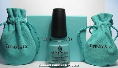 china glaze for Audrey: tiffany blue  love it!