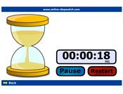 Egg Timer Countdown - use this to give students a goal for tidy-up time, spelling time, make a word, quizzes...etc