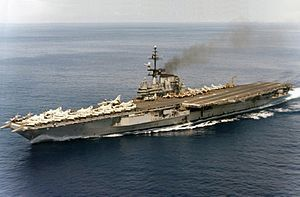 USS Franklin D. Roosevelt (CVA-42) The carrier my Pop was stationed on '62