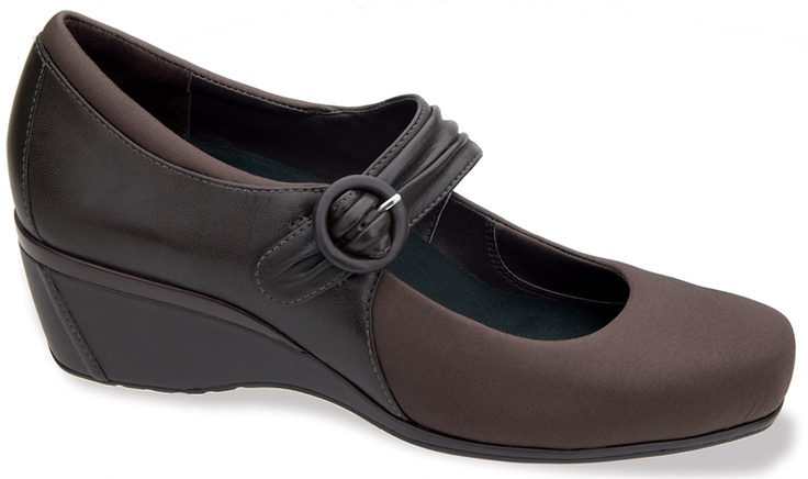 Aetrex Renee - Women's Mary Jane Wedges, Casual Orthopedic Shoes for Women