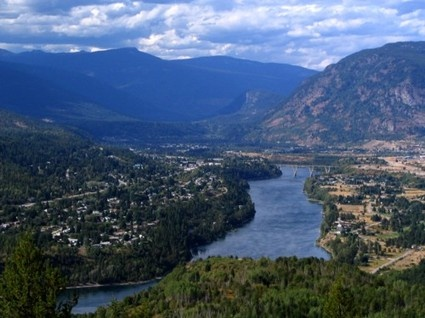 1996: Castlegar, BC Canada - passed through here on a motorcycle trip.