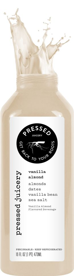 Best dessert ever. Cold Pressed Juices. Vanilla Almond. Day 1 in the books. Can't wait for more juice tomorrow!