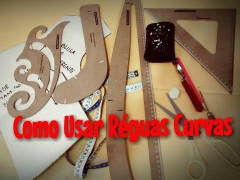 Como Usar as Réguas Curvas na Modelagem - Por Dayse Costa - YouTube