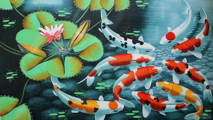 Popular Koi Pond Wallpaper 1920x1080 For Full Hd Dewidumai Wallpapers Designs Cvetochnye Oboi Oboi