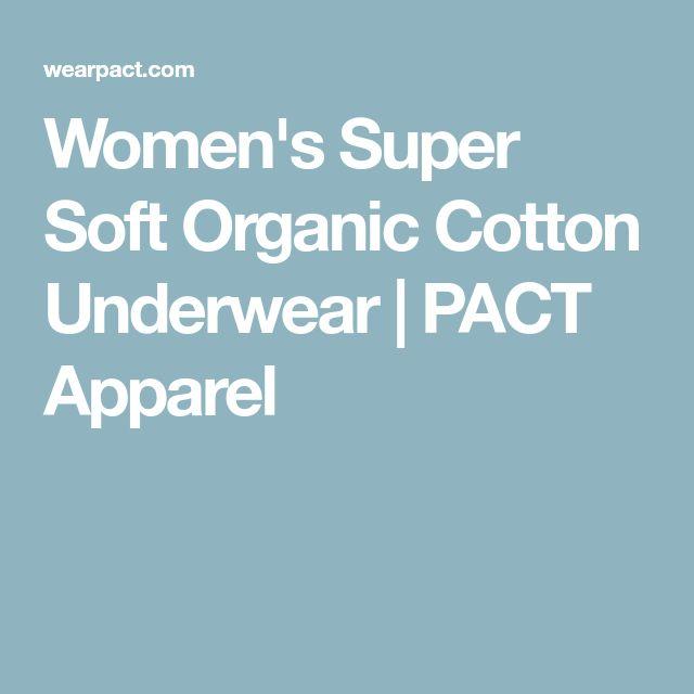 Women's Super Soft Organic Cotton Underwear | PACT Apparel