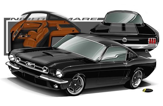 E Ef F A Dc Fcae Aadf Mustang Car Drawings
