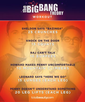 """""""The Big Bang Theory"""", Watch TV and Get Fit"""