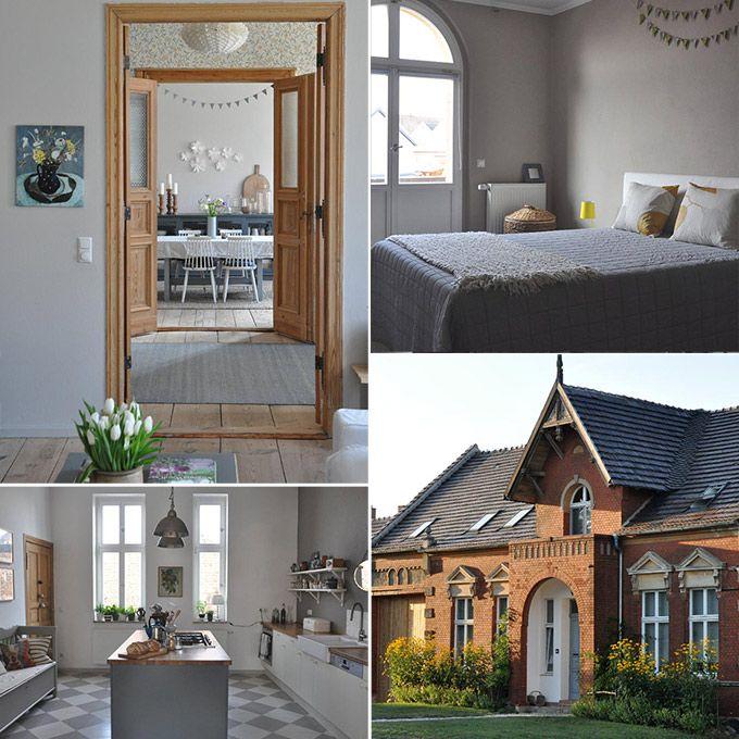 Weer zo'n mooi huis waar we geen genoeg van kunnen krijgen. Dit landhuis staat op het Duitse platteland en is omgeven door een prachtige tuin. Bewoners Katrin en Moritz Scharl zagen meteen de mogelijkheden van dit huis en gingen aan de slag. Benieuwd naar het resultaat? Kijk snel!