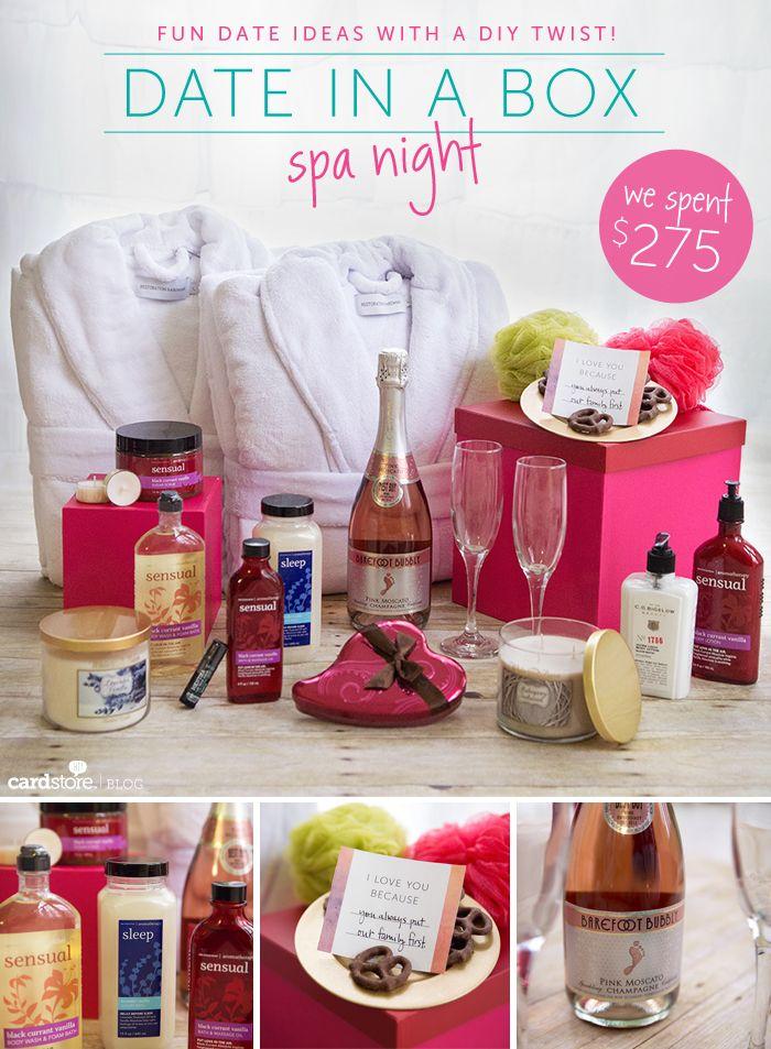 date in a box fun date ideas with a diy twist valentine s day rh pinterest com