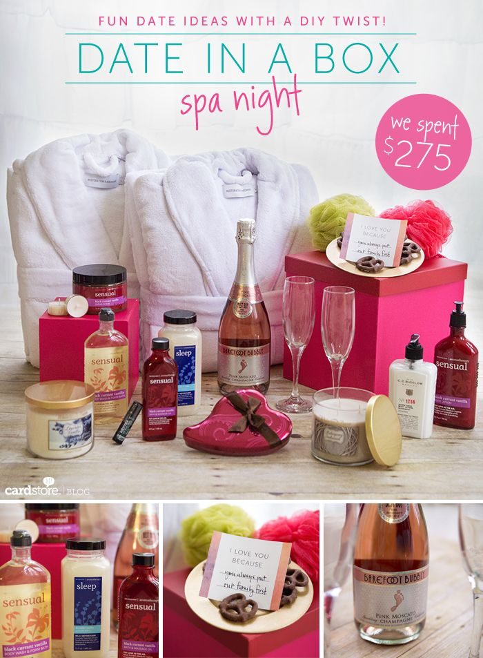far too expensive but love the idea of a date in a box! Like a present and a date