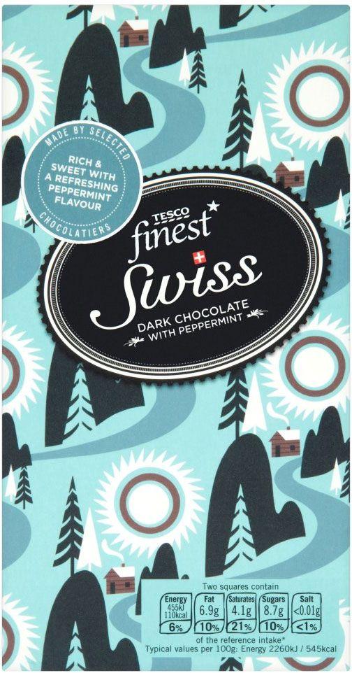 Tesco's Swiss Mint Chocolate - Lucy Davey