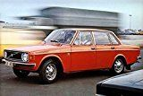 #7: 1973 Volvo 144 Deluxe Sedan Automobile Photo Poster