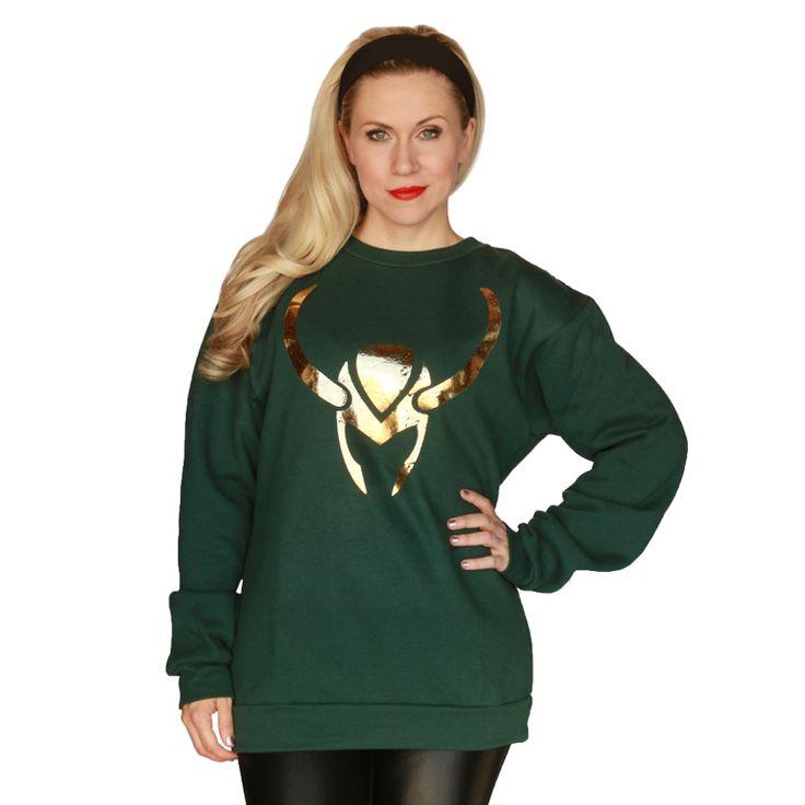 #Loki Pullover from HerUniverse #Marvel #HerUniverse