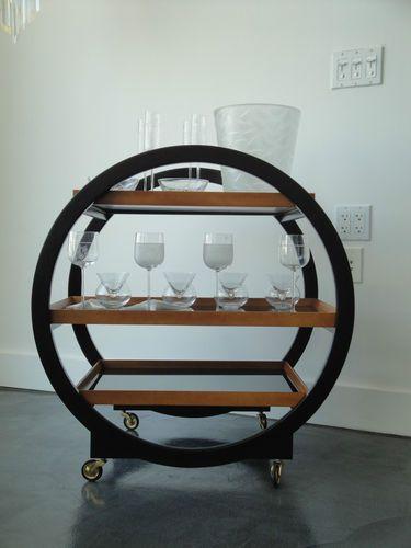 Art Deco Drinks Trolley Australia
