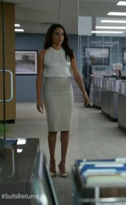 Brb Stealing the wardrobe of Rachel Zane