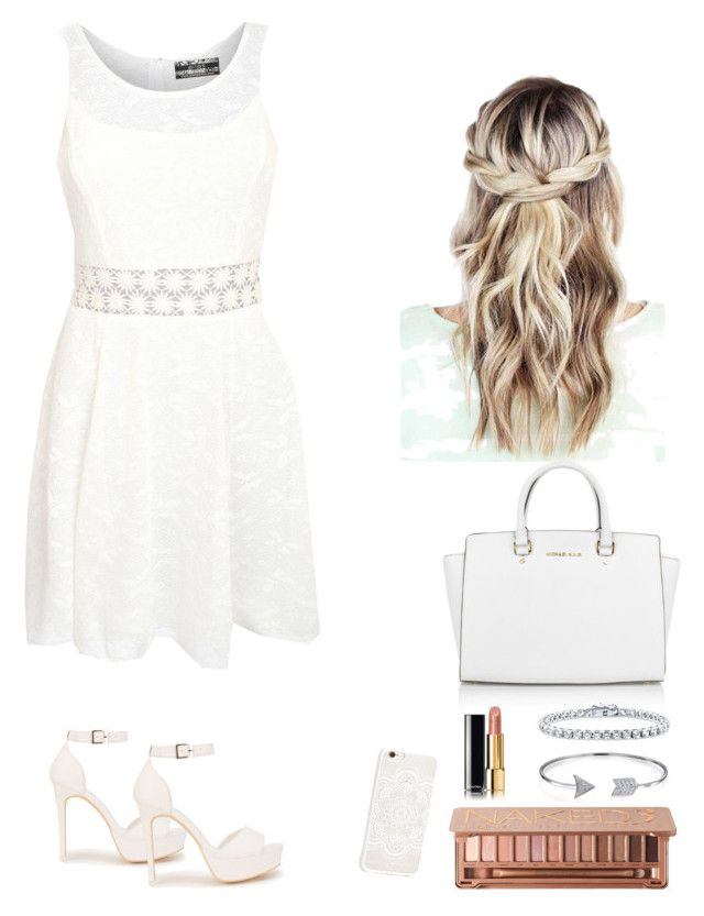 """Untitled #5"" by hannaklar on Polyvore featuring Pilot, Nly Shoes, Michael Kors, Chanel, Urban Decay, Bling Jewelry and BERRICLE"