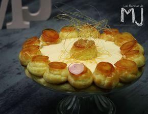 Hoy hacemos una tarta que es todo un espectáculo, la tarta Saint Honoré, dedicada al santo patrón de los pasteleros. Está formada por un...