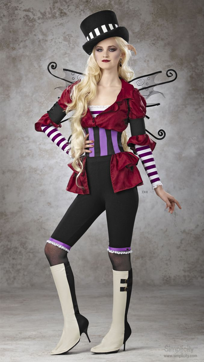 Sew a unique Victorian circus themed costume with Simplicity pattern 1301. Whether steampunk or history is your thing, this costume is sure to impress.