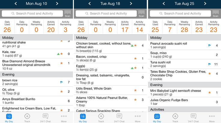 weight watchers app - Provided by Business Insider