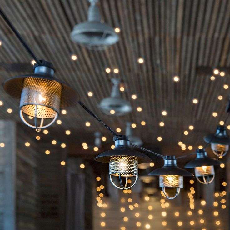 String Patio Lights Enchanting 18 Best Éclairage Extérieur Images On Pinterest  Exterior Lighting