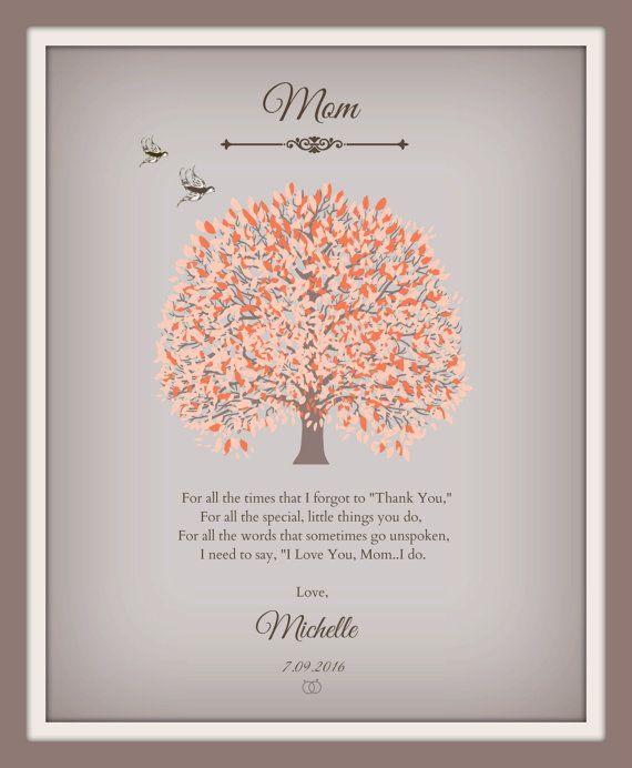 Moeder van de bruid Gift moeder dochter Wedding Gift gedicht dochter moeder dochter moeder huwelijksgedicht gepersonaliseerde huwelijksgeschenken - 49877