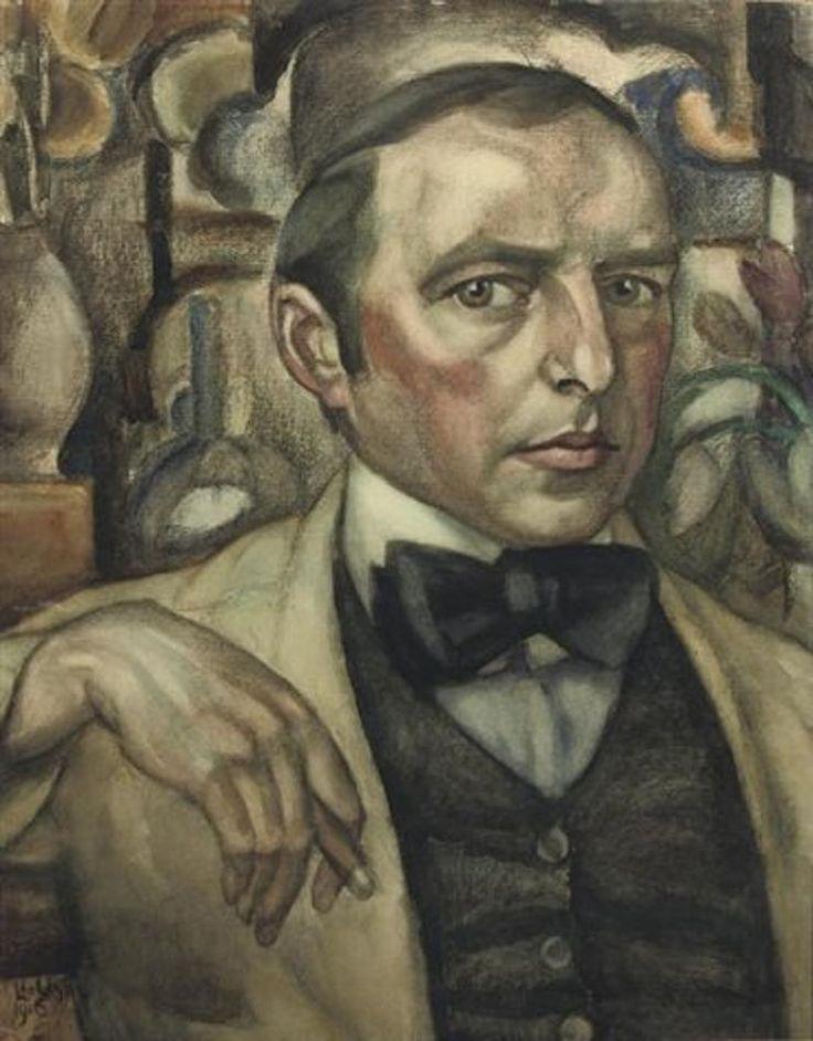 Leo Gestel (Pays-Bas, 1881-1941) – Autoportrait (1916) Collection privée