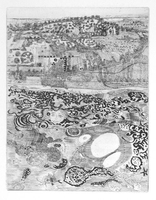 Anthony Gross - Galatea Spurning Polyhemus