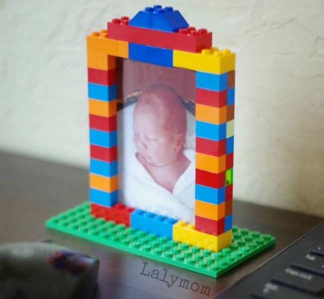 LEGO Week – Custom DIY LEGO Picture Frames – Great photo gift ideas or decoratio…