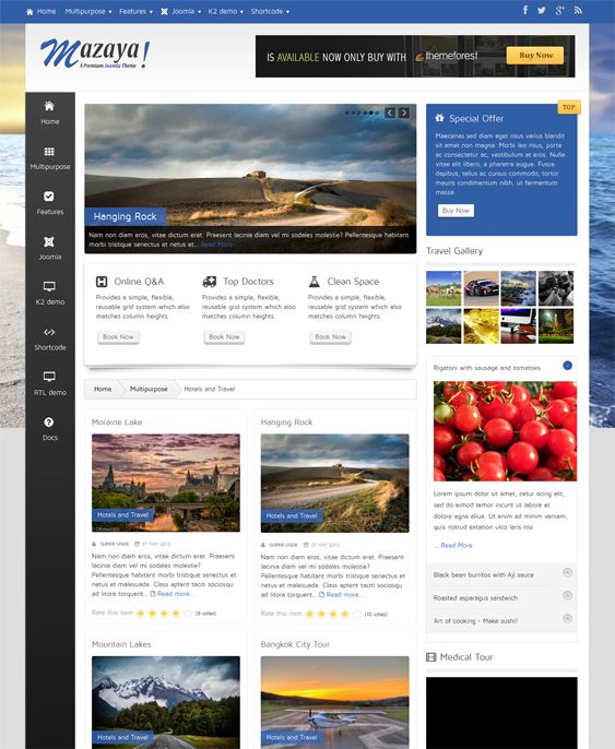 7 best 7 More of the Best Hotel Joomla Templates images on ...