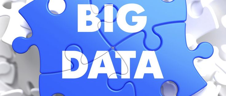 Big Data on Blue Puzzle.