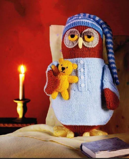 Кукляндия: Ночная сова с мишкой Teddy
