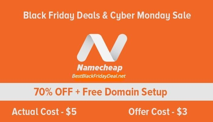 Namecheap Black Friday Deals On Domain Name And Web Hosting Web Hosting Hosting Best Cyber Monday