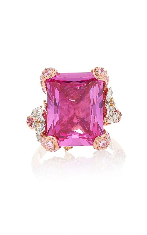Rose Cinderella Ring by ANABELA CHAN for Preorder on Moda Operandi